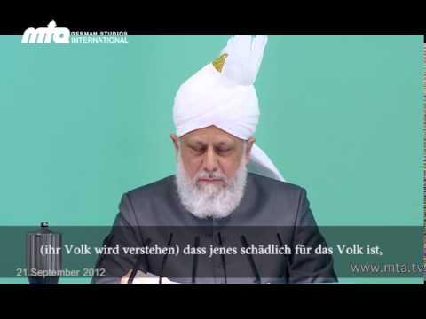 Beitrag: Khalif des Islam zur aktuellen Lage - ein Appell an die Welt