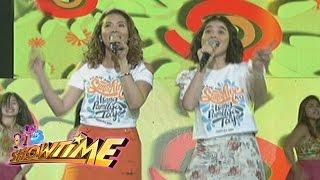 "Video It's Showtime: It's Showtime hosts sing ""Ikaw Ang Sunshine Ko, Isang Pamilya Tayo"" MP3, 3GP, MP4, WEBM, AVI, FLV Juni 2018"
