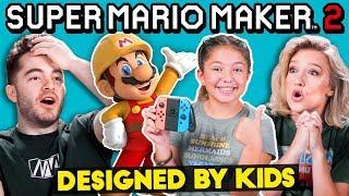 Video Gamers Vs. Mario Maker Levels Designed By Kids MP3, 3GP, MP4, WEBM, AVI, FLV Agustus 2019