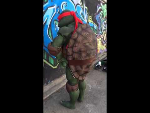 Tmnt Raphael tutorial prop costume suit