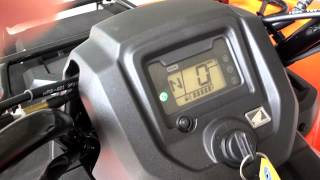 9. 2014 Rancher 420 Start up Video / Honda of Chattanooga TN ATVs // 2014 Rancher AT EPS TRX420FA2E