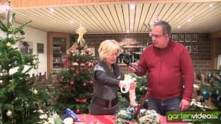 #919 Weihnachtsdekoration - Weihnachtskranz als Türkranz oder Wandkranz