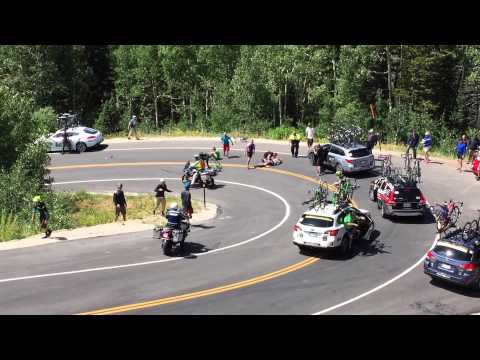 WATCH: Horrible bike accident in Utah caught on camera!