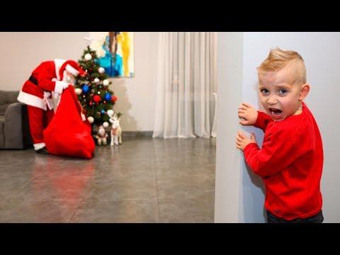 САНТА-настоящий СУЩЕСТВУЕТ❗️Дорогущие подарки❗️Truthful Santa Claus❗️A precious presents (видео)