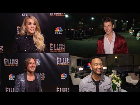 Elvis All-Star Tribute (NBC) Shawn Mendes, Keith Urban, Carrie Underwood, John Legend & More! [HD]