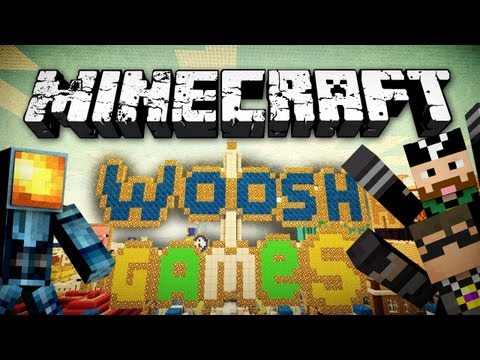 Minecraft: The Woosh Games w/ SkyDoesMinecraft and CavemanFilms!