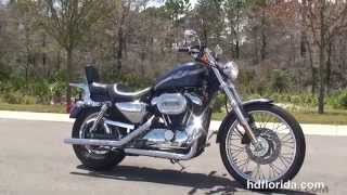 9. Used 2003 Harley Davidson Sportster 1200 Custom Motorcycles for sale  - Ocala, FL