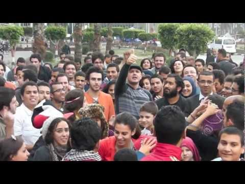 Dancing Matt Visits Tahrir Square