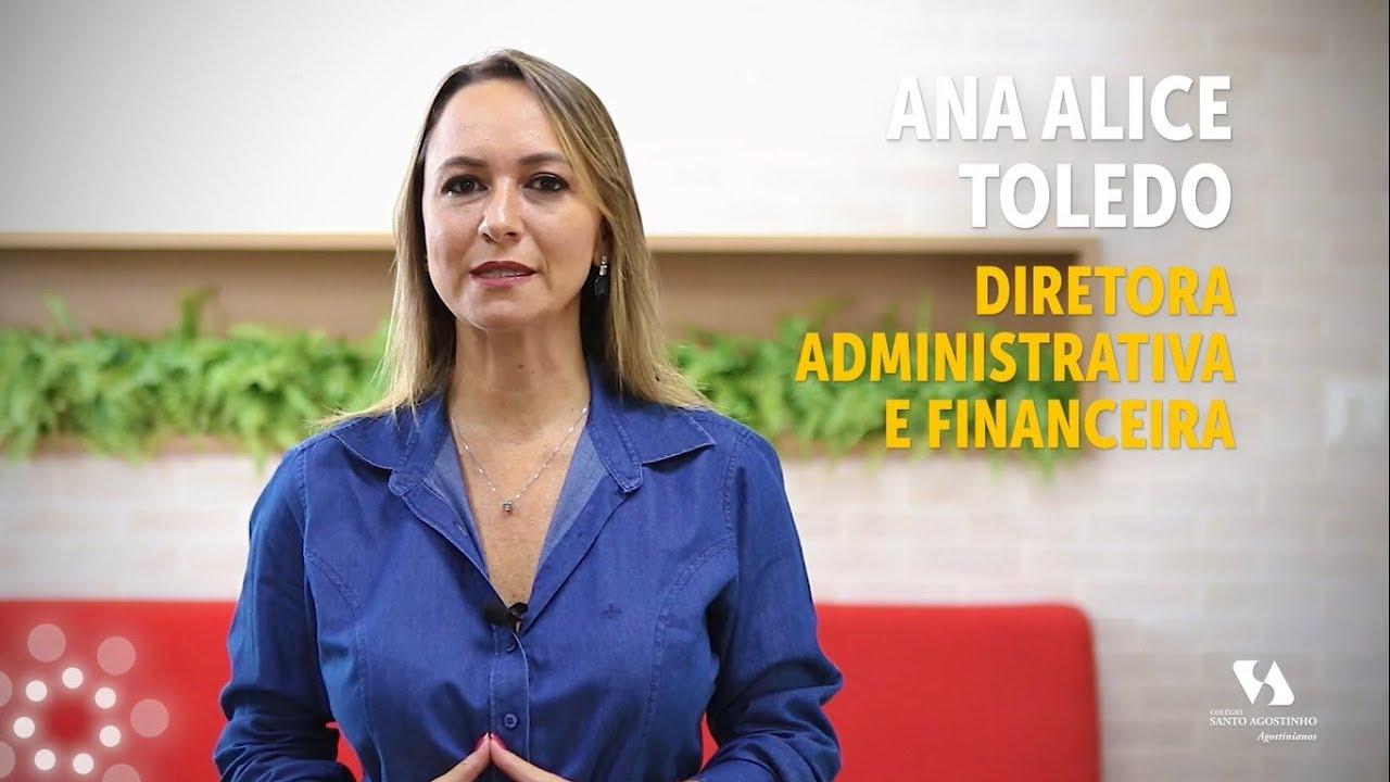 Ana Alice - Diretora Administrativa e Financeira