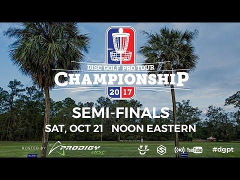 Pro Tour: DGPT Championships presented by Prodigy - Semi Finals (видео)