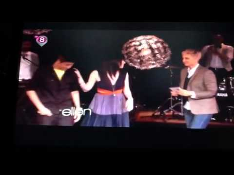 Justin Bieber and Carly Rae Jepsen on The Ellen Show