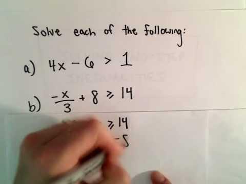 Auflösung von Zwei- Schritte linearer Ungleichungen