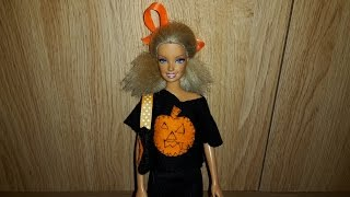 How To Make A Dolls Pumpkin T Shirt