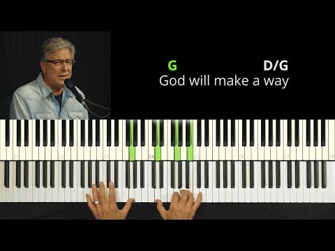 Don Moen - God Will Make A Way | Easy Piano Tutorial