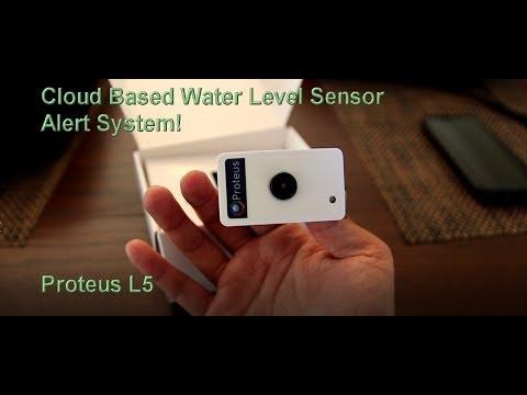 Proteus L5 Sump Pump Water Level Sensor PSLV07 Amazing Cloud Based Alert System