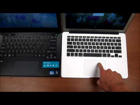 apple macbook air - A comparison of the Apple MacBook Air 13