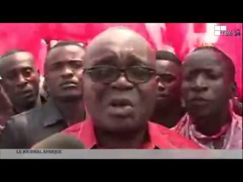 Télé 24 Live: Jean Bertrand Ewanga a été arrêté après avoir dénoncé le plan de J. Kabila