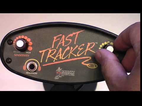 Bounty Hunter Fast Tracker Metal Detector Introduction and How To video.
