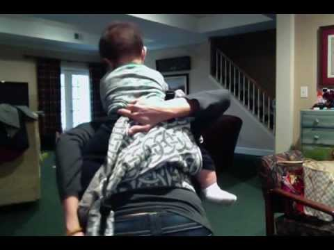 High Back Carry with a Tula Baby Carrier (Full Buckle Soft Structured Carrier)