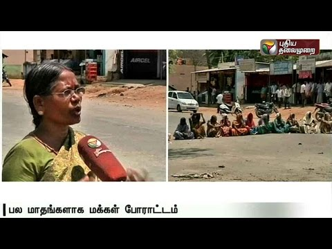 Protest-by-Tribal-women-along-the-Tamilnadu-Kerala-border-against-the-TASMAC-outlet
