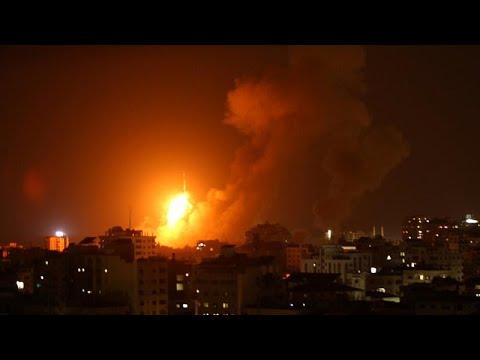 Γάζα: Νέες ισραηλινές αεροπορικές επιδρομές – Νεκροί και τραυματίες…