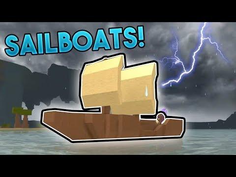 SAILBOATS AND WEATHER!  ROBLOX: Booga Booga