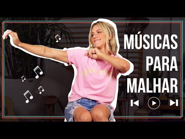 AS MÚSICAS QUE MAIS AMO PARA MALHAR  | GIOH - Giovanna Ewbank