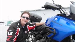 6. 2007 Suzuki V-Strom DL1000 stock #9-0268 demo ride & walk around @ Diamond Motor Sports