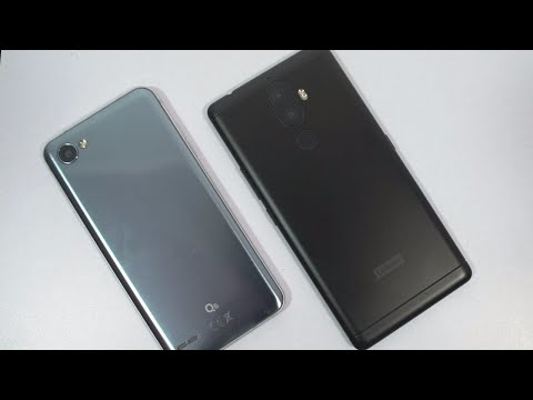 Lenovo K8 Note vs LG Q6 Speed Ttest