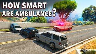 GTA V - How smart are Ambulance?