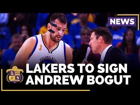 Video: Lakers Agree To Sign Andrew Bogut