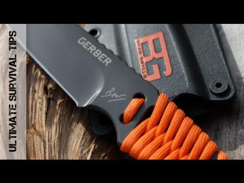 Відеоогляд ножа Gerber Bear Grylls Survival Paracord Knife