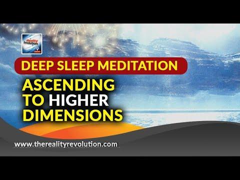 Deep Sleep Meditation - Ascending to Higher Dimensions - Delta 111hz 174hz 396hz 432hz 639hz 888hz