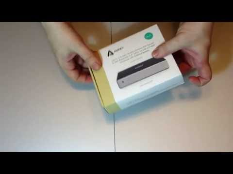 Unboxing Aukey All in One Multifunctional Wifi Sata HDD Case