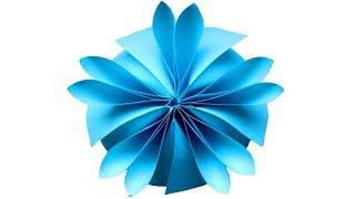 Цветок из бумаги Оригами поделки