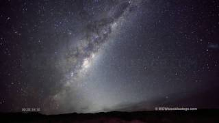 Time-lapse of The Milky Way
