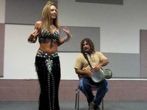 Rachel George & Frank Lazzaro Bellydance Drum Solo