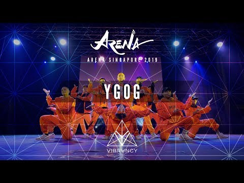 YGOG | Arena Singapore 2019 [@VIBRVNCY Front Row 4K] - Thời lượng: 3 phút, 35 giây.