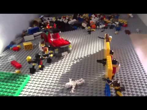Lego the walking dead season 1 ep 3 meet the boss