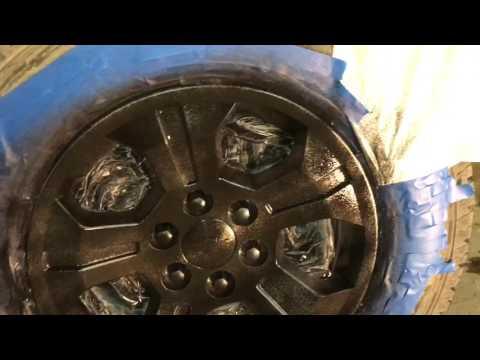 Chevrolet Silverado: How to Plasti dip wheels on truck.