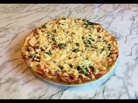 Пицца домашняя быстрый рецепты