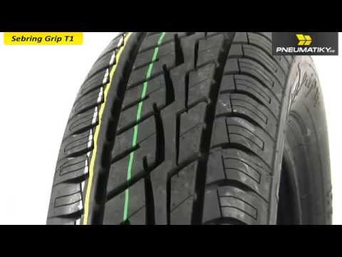 Youtube Sebring Grip T1 165/70 R14 81 T Letní