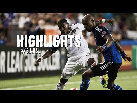Lake - San Jose Earthquakes take on Real Salt Lake at Buck Shaw Stadium in a key contest between two Western Conference foes. Subscribe to our channel for more soccer content: http://www.youtube.com/subs...