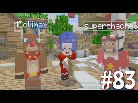 Minecraft Xbox - Sky Island Challenge - Christmasy Island!! [83]