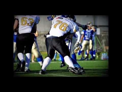 American football SFL Final 2012 – Topolcany, Slovakia