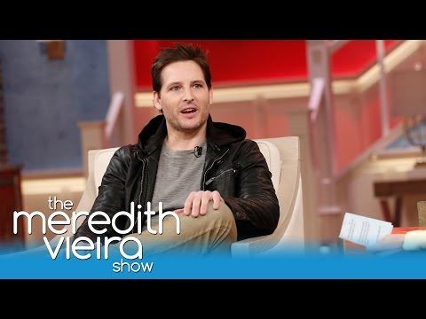 Peter Facinelli on Daughters With Jennie Garth | The Meredith Vieira Show
