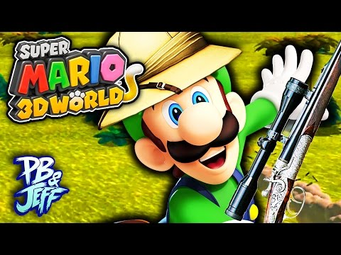 LUIGI ON THE HUNT! - Super Mario 3D World   Wii U (Part 16)
