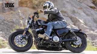 7. Harley-Davidson Sportster Forty-Eight   Visordown Road Test