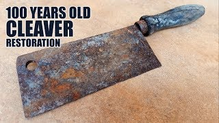 Video Antique Rusty Cleaver Restoration MP3, 3GP, MP4, WEBM, AVI, FLV Juni 2019