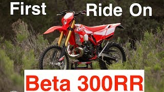 7. 1st Ride on the Beta 300RR - Who this bike might be good for   Episode 268